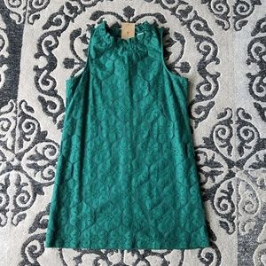 NWT Paper Crane emerald green halter dress. SZ: L